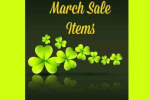 March Sale Items