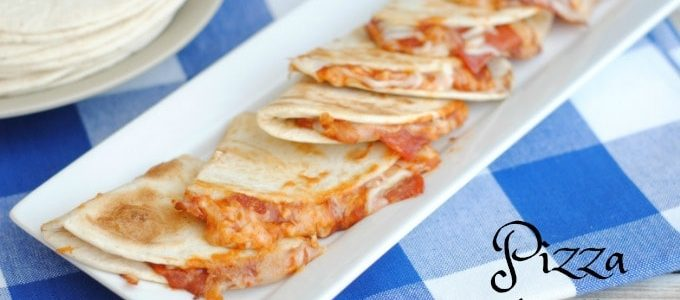 Pizza Tortillas Are the Perfect Quick Weeknight Meal