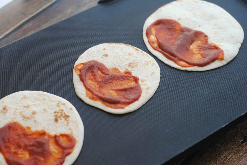 Pizza Tortillas