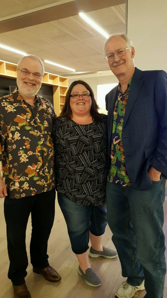 Directors of Moana Ron Clements and John Musker