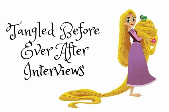 Tangled Before Ever After Interviews