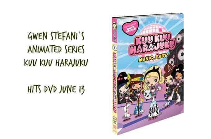"""GWEN STEFANI'S """"KUU KUU HARAJUKU"""" HITS DVD JUNE 13"""
