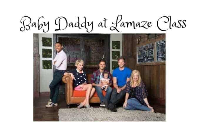 Baby Daddy at Lamaze Class