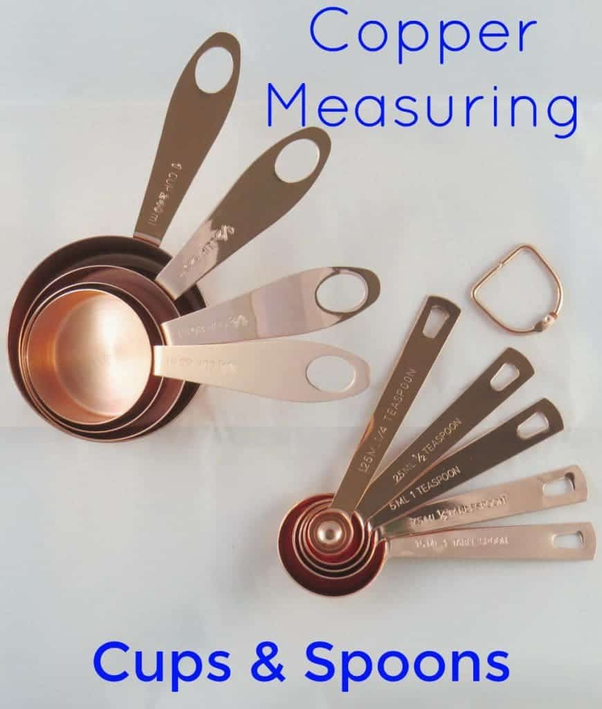 Copper Measuring Cups and spoons from Simpler Life