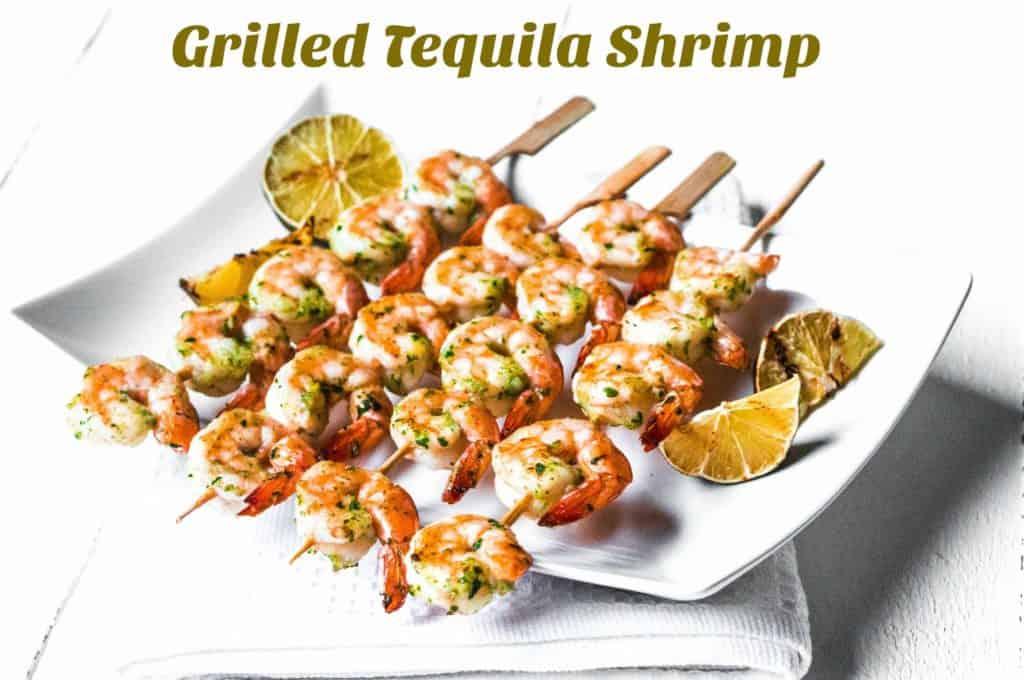 Grilled Tequila Shrimp