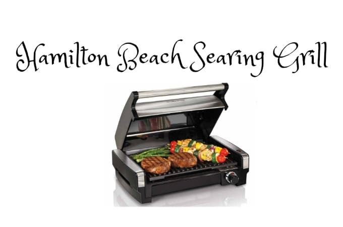 Indoor Grilling with Hamilton Beach