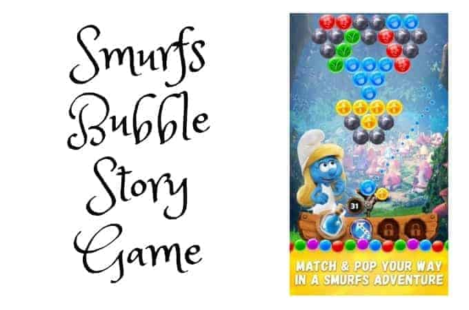 Smurfs Bubble Story Game