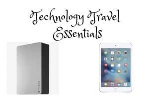 Technology Travel Essentials