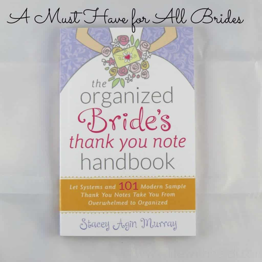 The Organized Bride's thank you note handbook