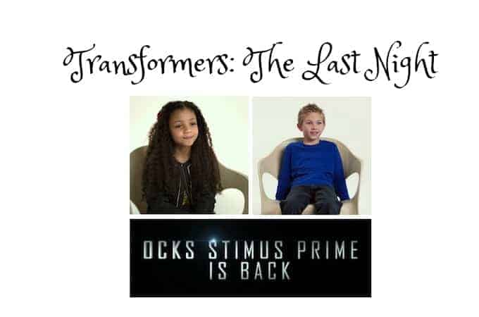 Transformers The Last Night coming to theaters 6/23