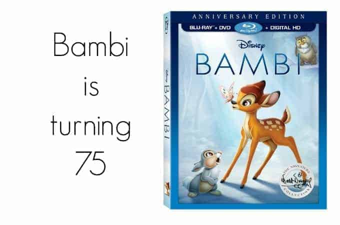 Bambi is turning 75