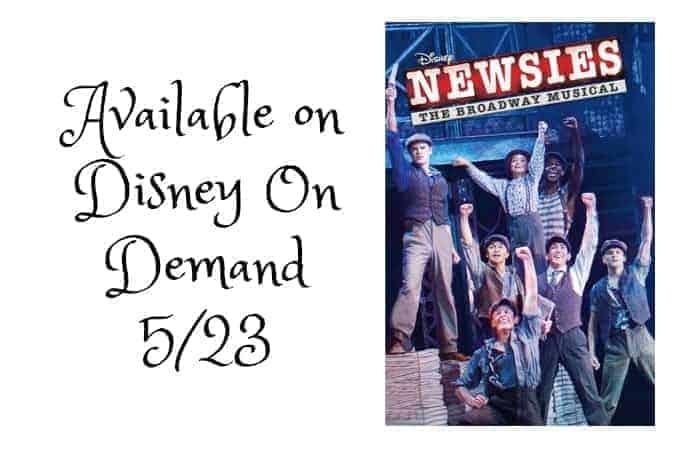 Newsies from Disney On Broadway