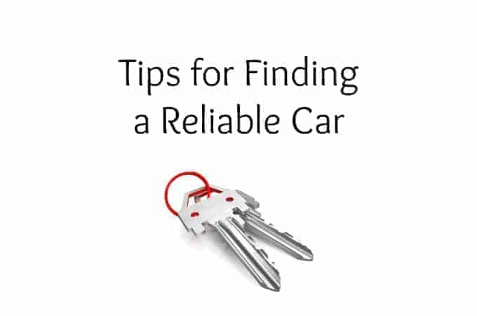 Tips for Finding a Reliable Car