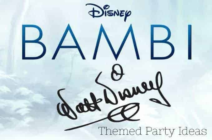 Bambi Themed Party Ideas