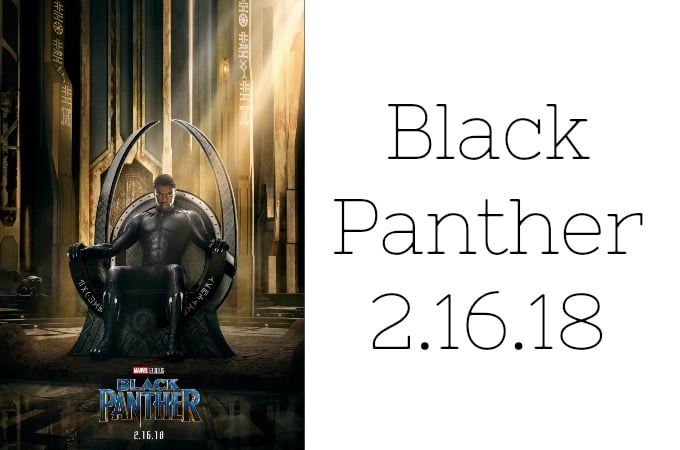 Black Panther Coming in February 2018