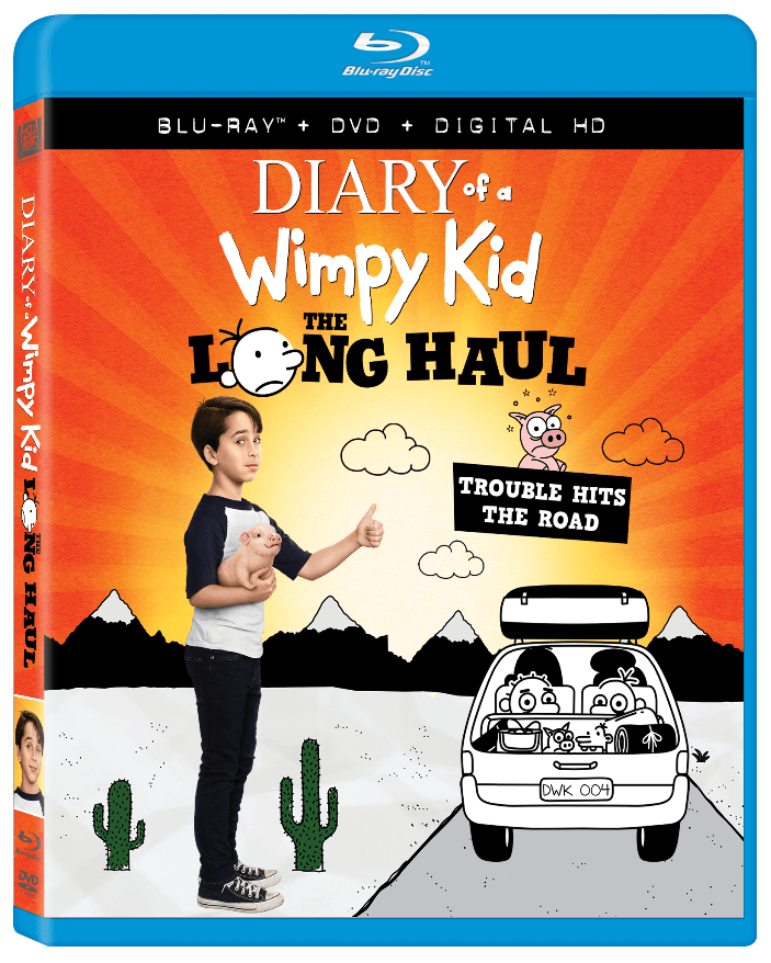 Diary of a wimpy kid the long haul plot summary