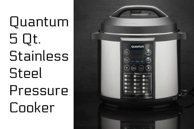 Quantum 5 Qt. Stainless Steel Pressure Cooker