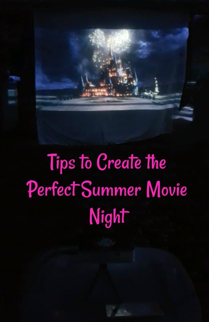 Tips to Create the Perfect Summer Movie Night