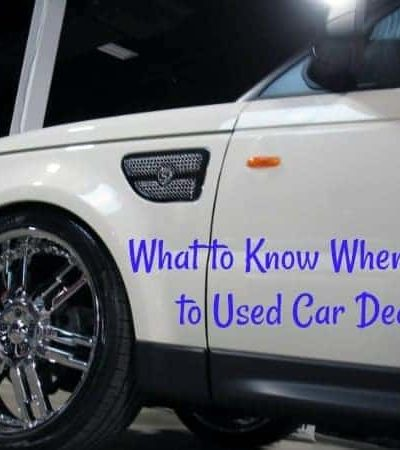 What to Know When Talking 2 Used Car Dealers