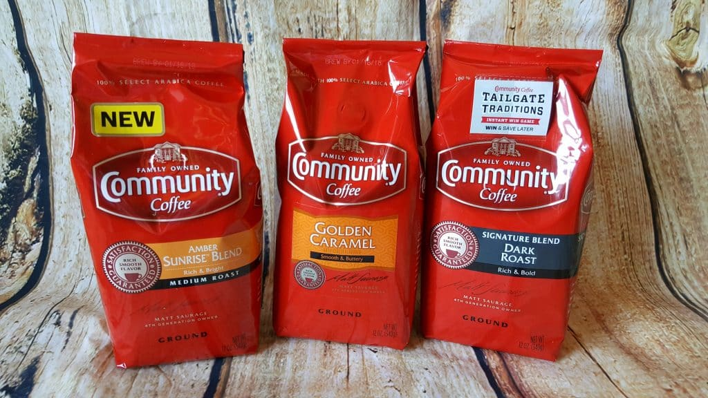 Community Coffee is perfect for Back To School Time