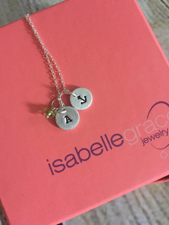 Isabella Grace is perfect for Back to School