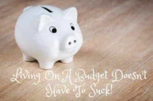 Living On A Budget Doesn't Have To Suck!