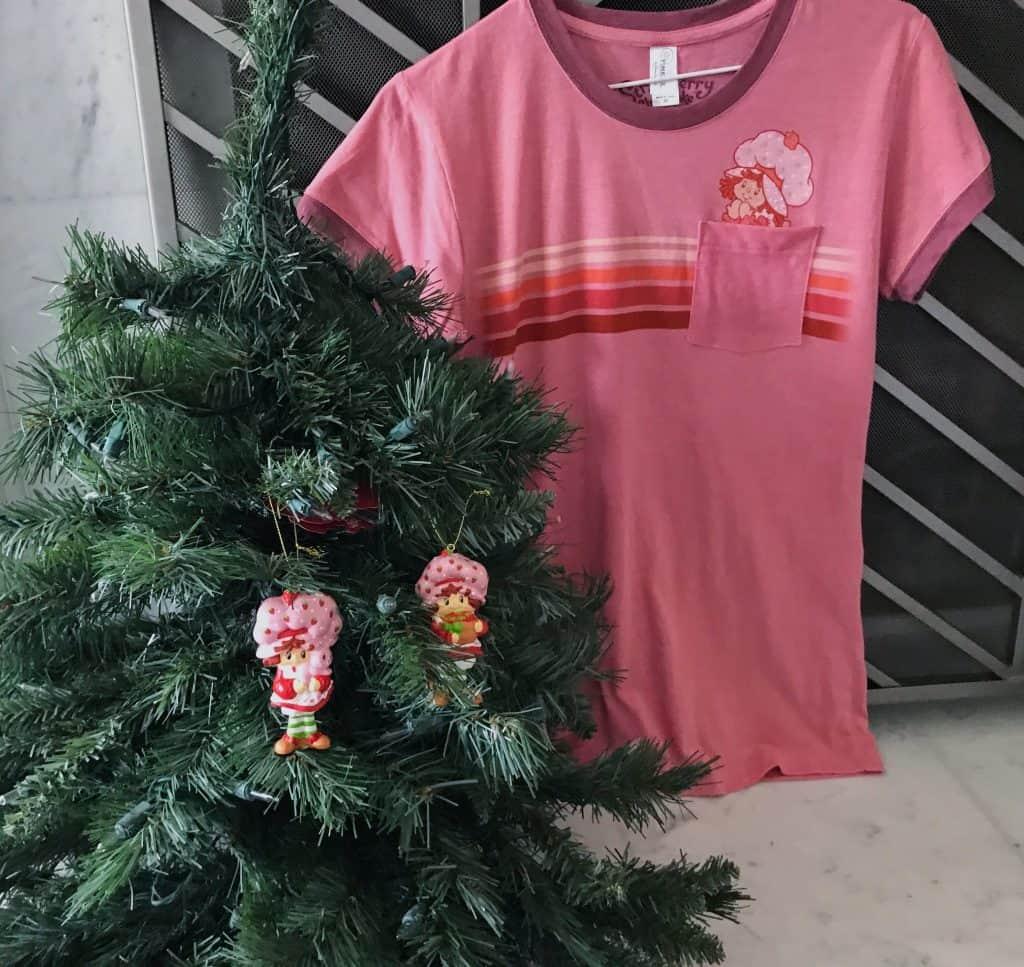 Strawberry Shortcake Ornament