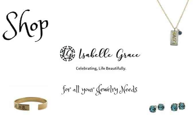 Shop Isabelle Grace for all your Jewelry Needs