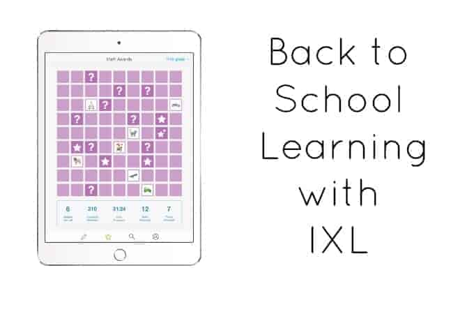 Back to School Learning with IXL
