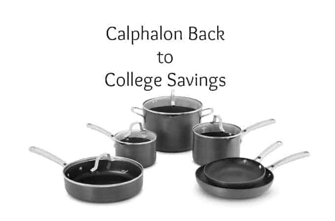 Calphalon Back to College Savings