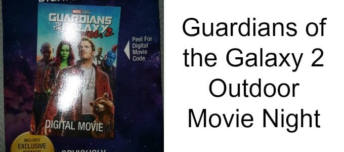 Guardians of the Galaxy 2 Outdoor Movie Night
