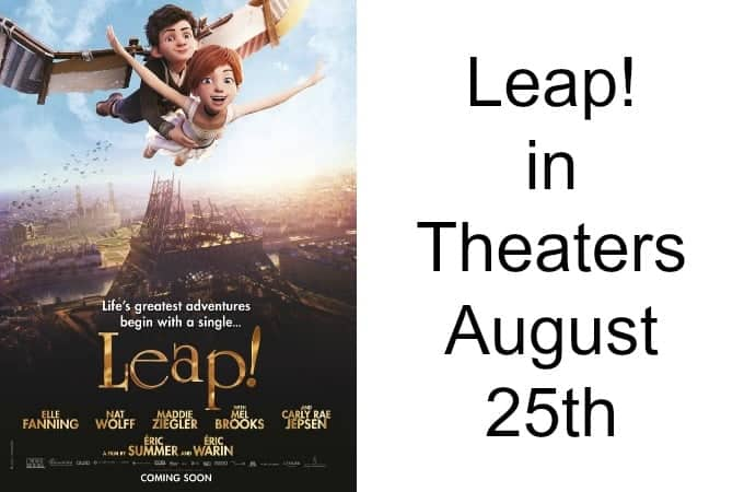Leap! in Theaters August 25th