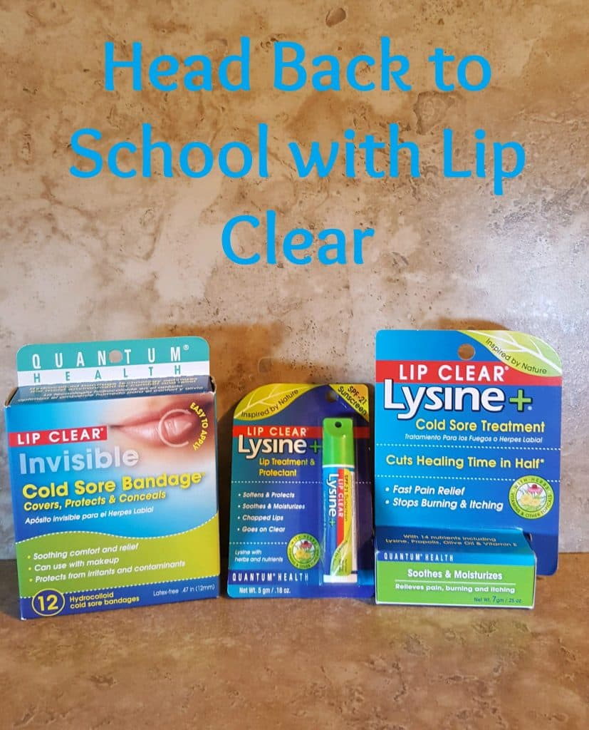 Head Back to School with Lip Clear
