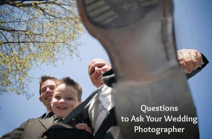 Questions To Ask Your Wedding Photographer