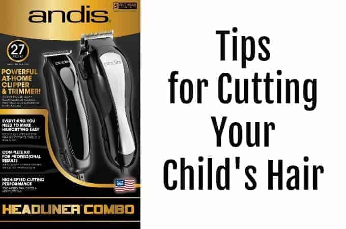 Tips for Cutting Your Child's Hair