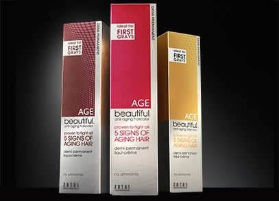 Fight Aging Hair with AgeBeautiful Color