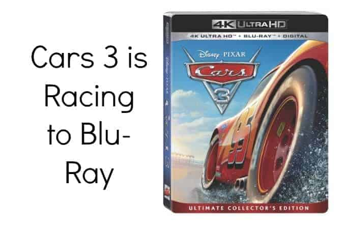 Cars 3 is Racing to Blu-Ray
