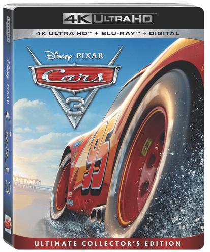 Cars 3 is Racing to Blu-Ray