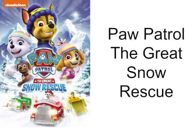 Paw Patrol The Great Snow Rescue