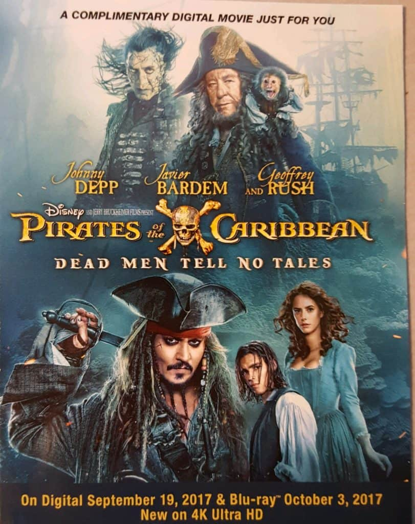 Pirates of the Caribbean Dead Men Tell No Tales Now on Digital