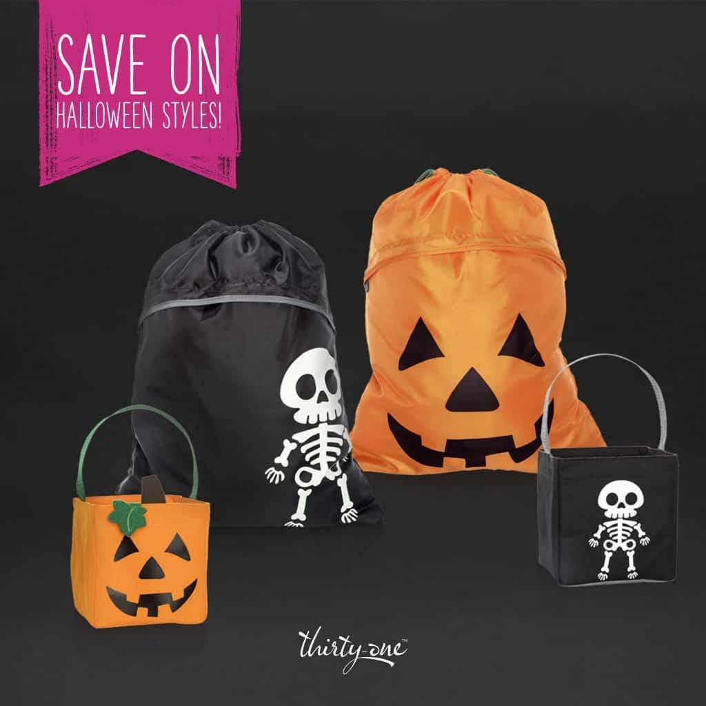 save on Halloween Thirty One