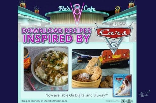 Cars 3 Recipes
