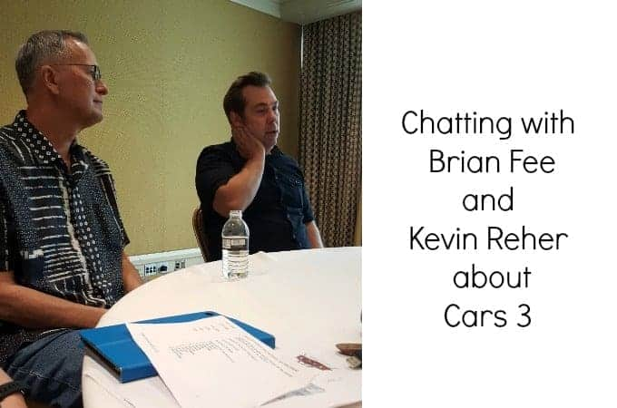 Chatting with Brian Fee and Kevin Reher about Cars 3