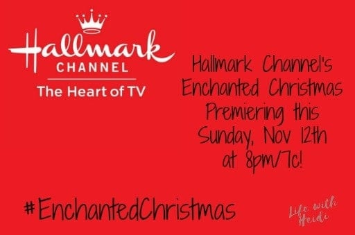 hallmark channels enchanted christmas premiering this sunday nov 12th at 8pm7c