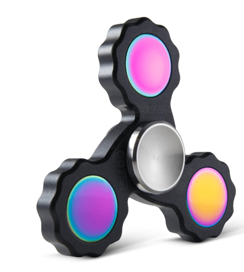Precision Fidget Spinner Toy- Black