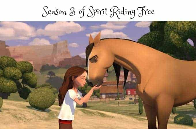 Season 3 of Spirit Riding Free