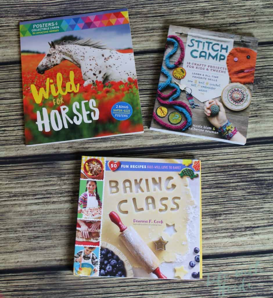 Storey Publishing has several books that are perfect for kids or adults.