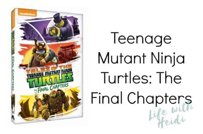 Teenage Mutant Ninja Turtles: The Final Chapters