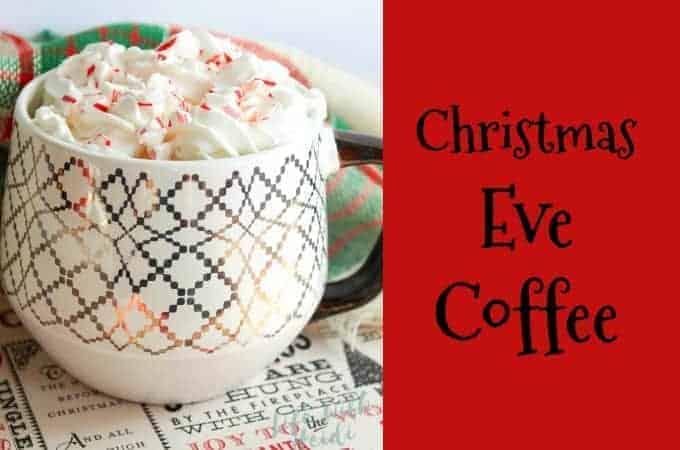 Christmas Eve Coffee
