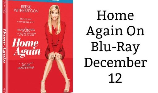 Home Again On Blu-Ray December 12
